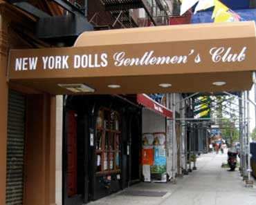 New York Dolls strip club