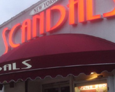 Review of Scandals strip club in New York