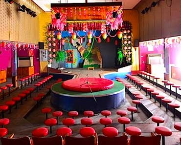 Japanese strip theater