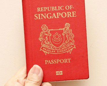 Singapore passport age of consent