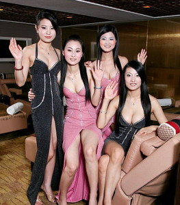 Ladies from the Rio Spa in Macau