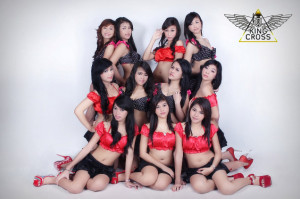 Sexy dancers at King Cross Jakarta
