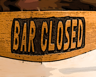 Closed bars