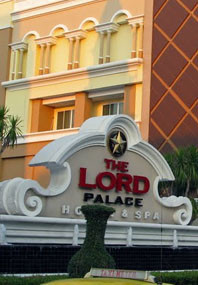Review of The Lord hotel massage in Bangkok Thailand