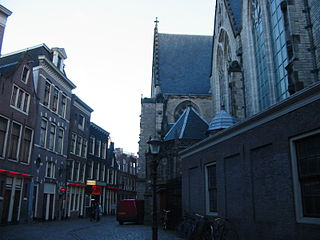 De Oude Kerk church red light district