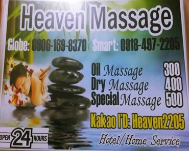 Review of Heaven Massage in Angeles City