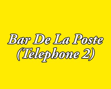 review bar de la poste telephone 2 pattaya